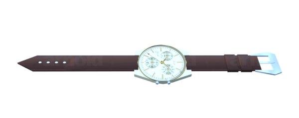 3D wrist watch