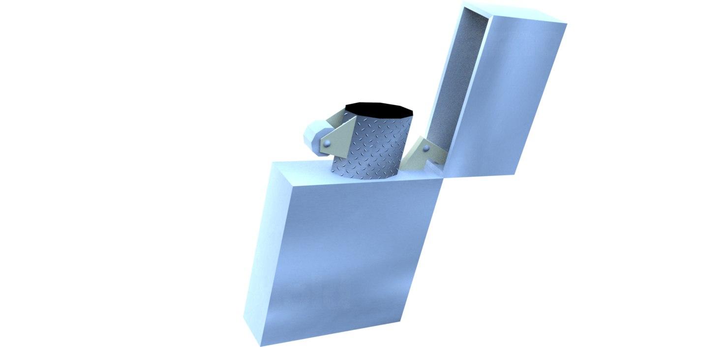 3D lighter model