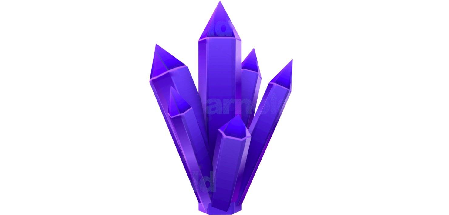 3D quartz model