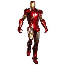 3D model iron-man suit