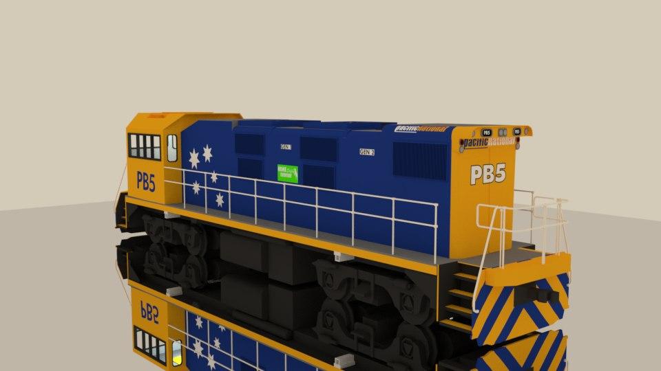 3D nsw pb class locomotive