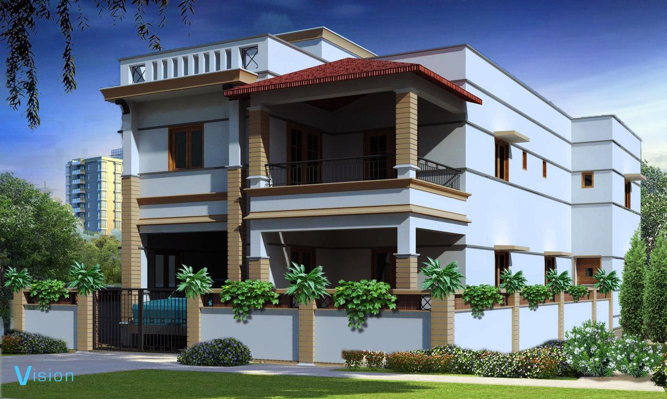 3D bungalow revit 2016 model