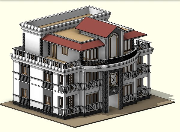 story house 3D