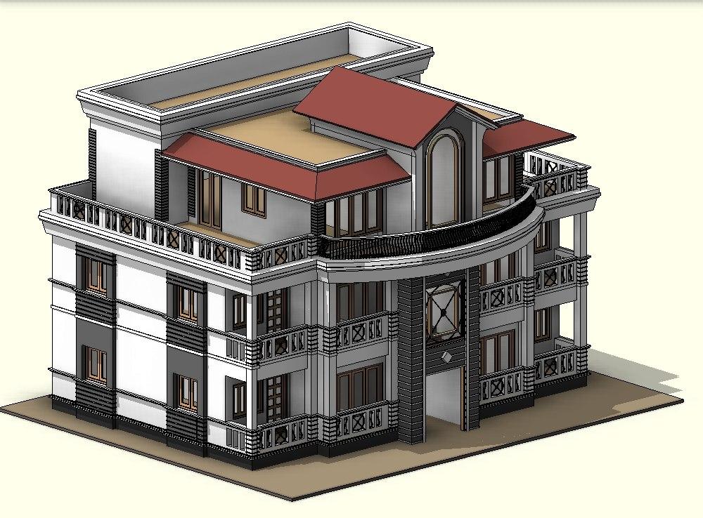 story house 3D