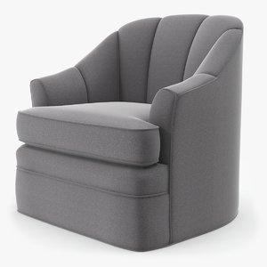 3D dee swivel chair