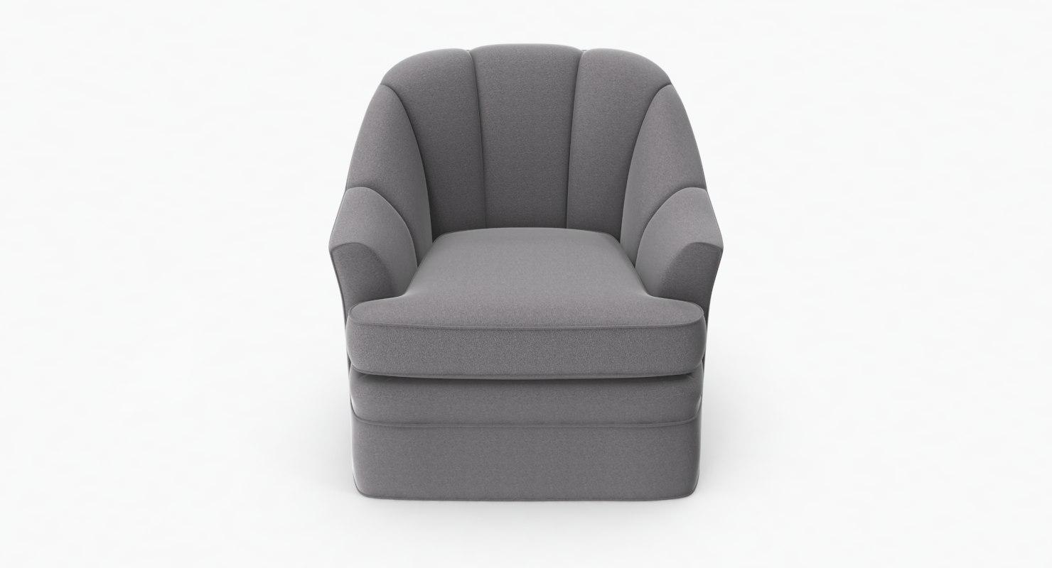 3D Dee Swivel Chair; 3D Dee Swivel Chair