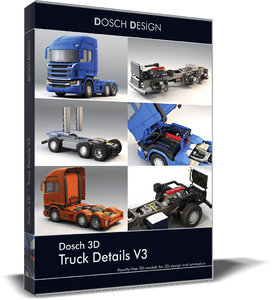 dosch truck details v3 3D model