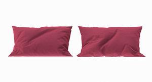 corona pillow 3D