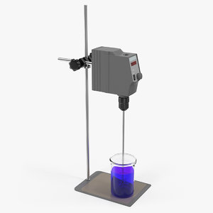 laboratory stirrer 3D