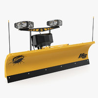 snowplow fisher rigged 3D