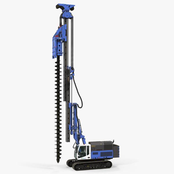 spiral drilling machine generic model