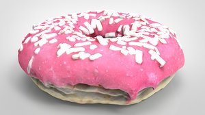 3D pink donuts