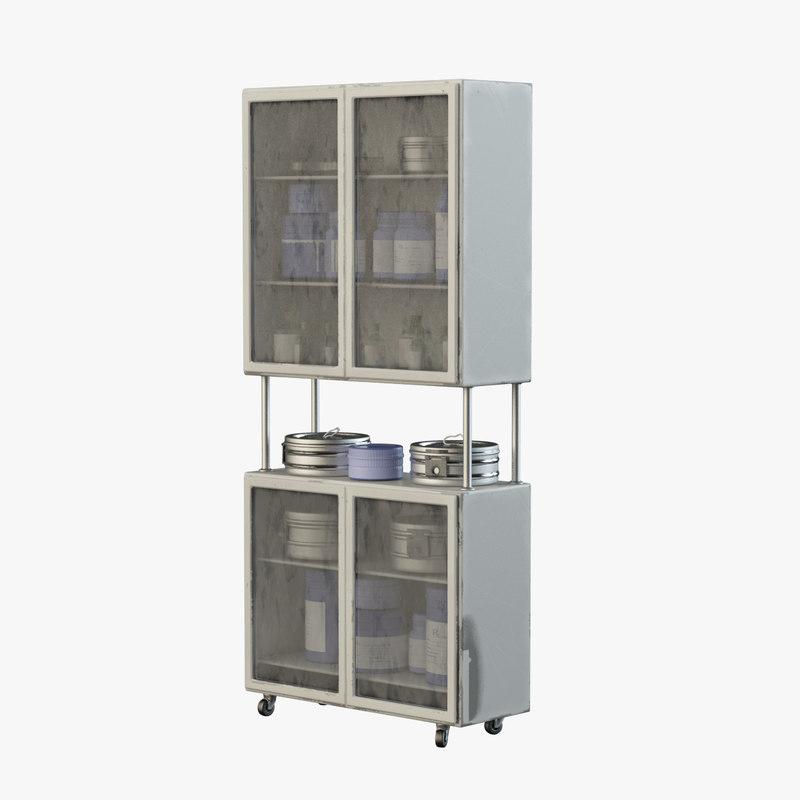 medical rack model