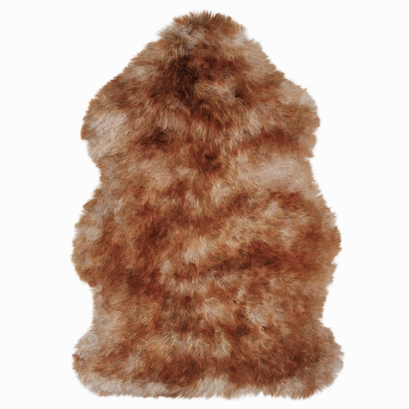 3D wool luxe sunset sheepskin