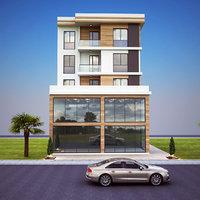 home modeled 3D model