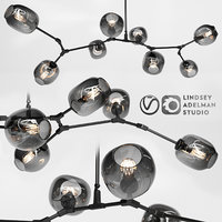 branching bubble 8 lamps model