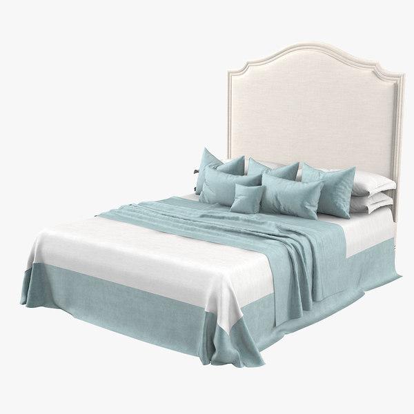 galimberti nino regency bed 3D