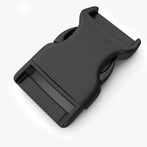 3D model buckle pbr