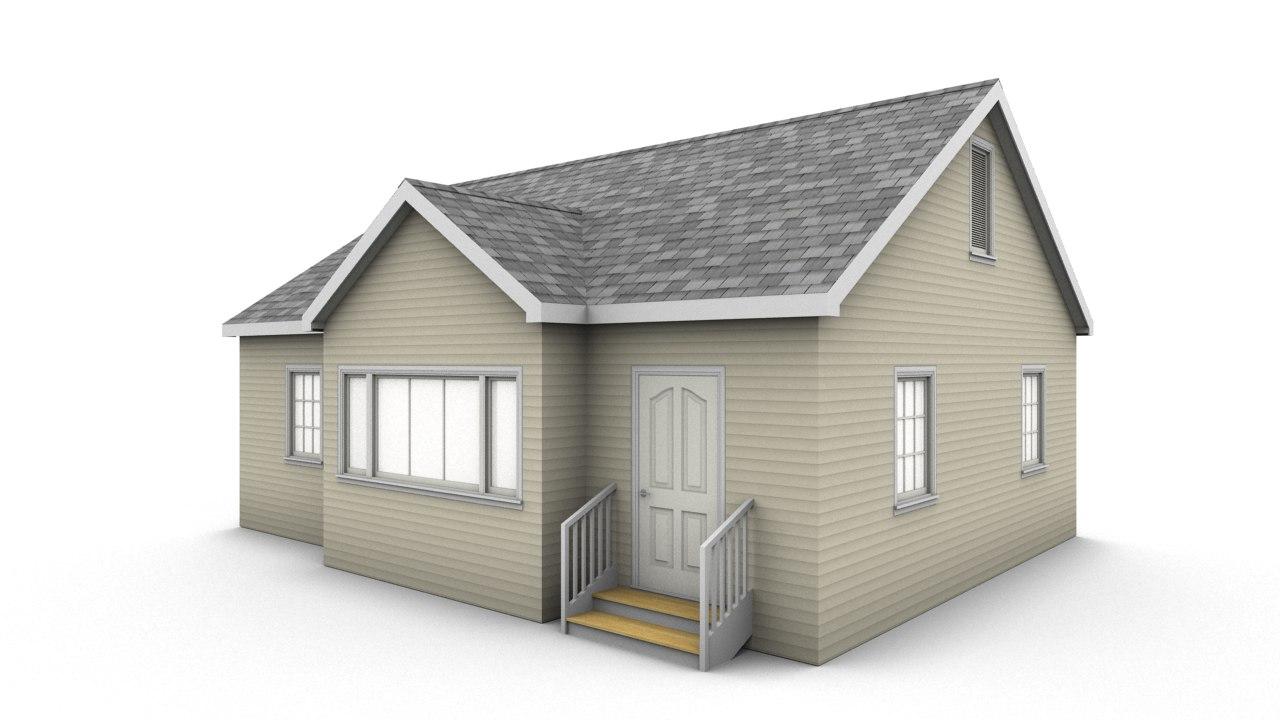 bungalow house model