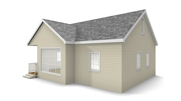 bungalow house 3D model