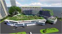 3D hospital design model