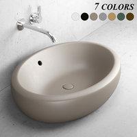 3D fluid washbasin