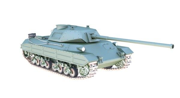 italian tank p43 model