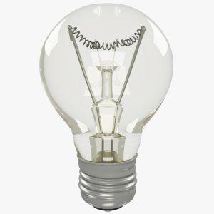 3D bulb modelled
