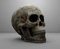 Fantasy Skull