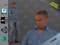 3D model afroman1 games