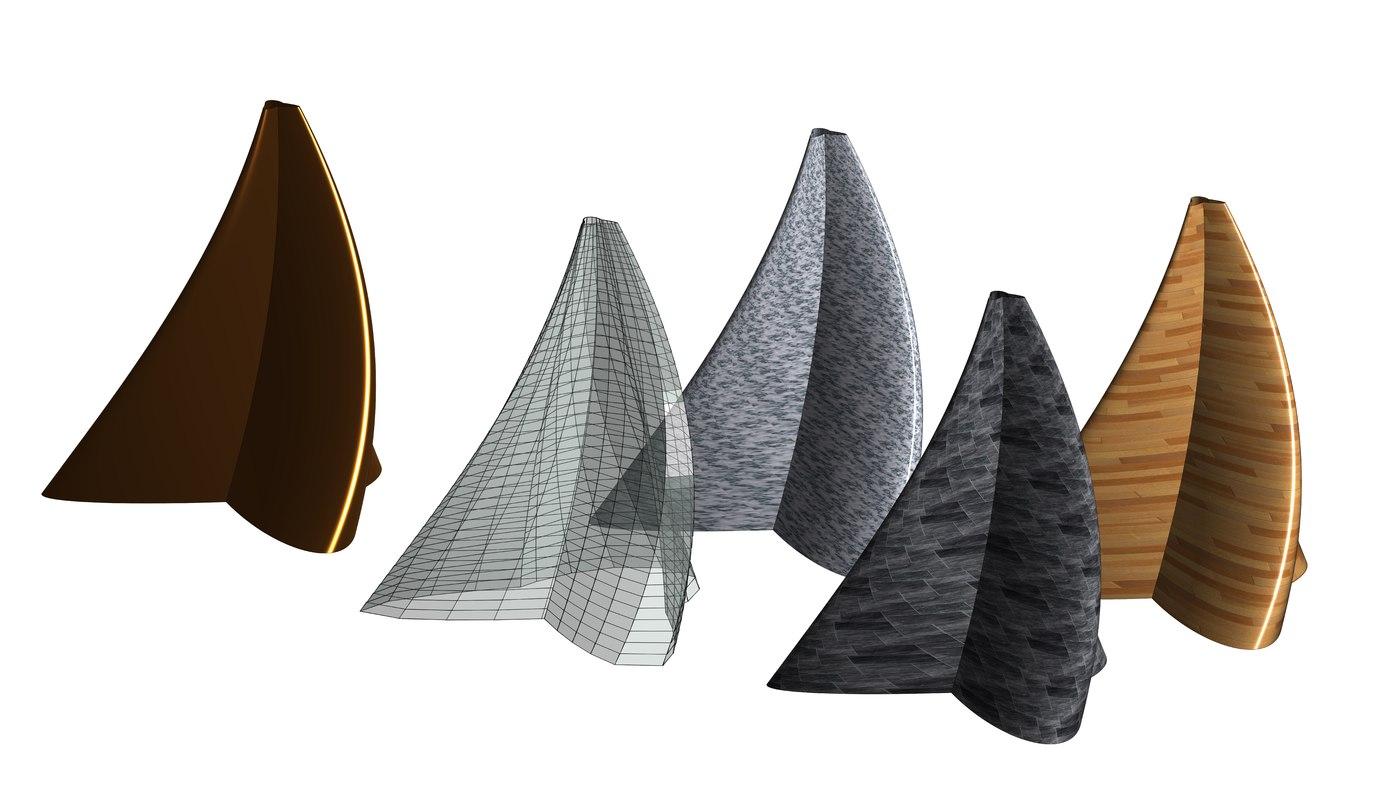 3D revit building designed