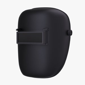 welding helmet mask 3D model