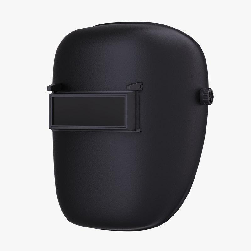 welding helmet mask 3D model
