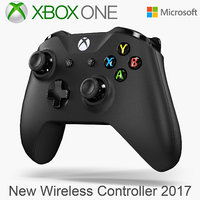 3D microsoft xbox wireless controller model