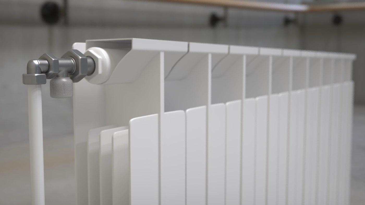 home radiator panel 3D