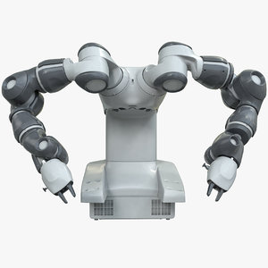 yumi industrial robot abb 3D model