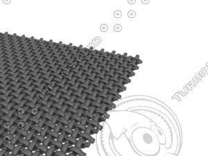 carbon cloth paper 3D