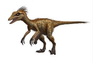3D model troodon unreal