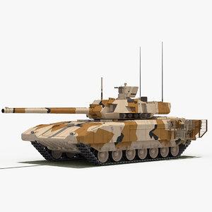 3D t-14 armata desert camo
