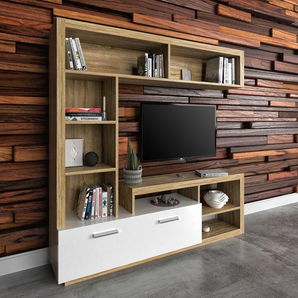 3D tv cabinet floks model