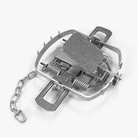 bear trap rigged 3D