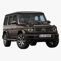 2019 mercedes-benz g-class 3D model