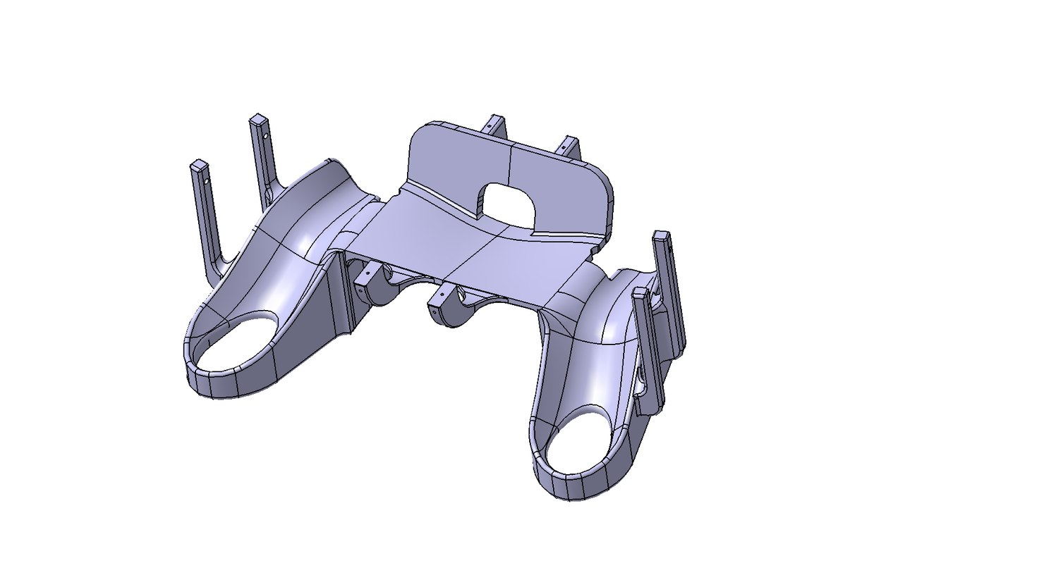 ps4 dock controller 3D model