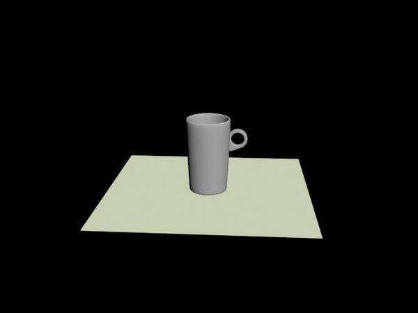 3D kitchen model