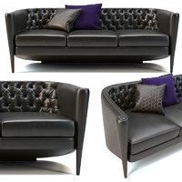 3D rich cushion divano moroso