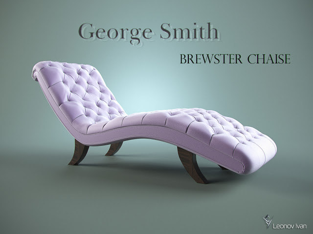 george brewster chaise 3D model