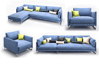 3D model sofa saba livingston