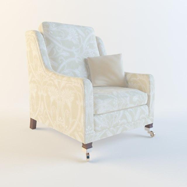 duresta horatio chair 3D model