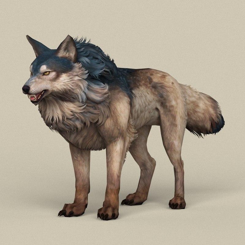 ready wild wolf model