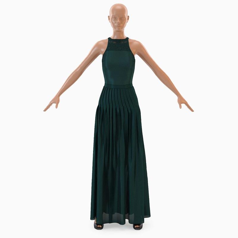 3D model dress 004